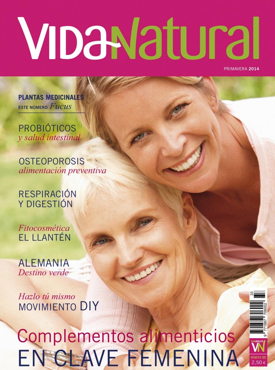Revista VIDA NATURAL Nº 33 - PRIMAVERA 2014