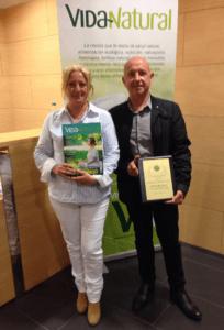Revista Vida Natural, Premio Nicolas Capo 2016