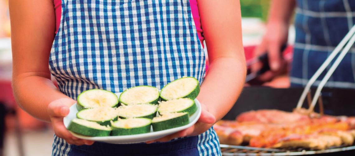 alimentación en los meses de calor