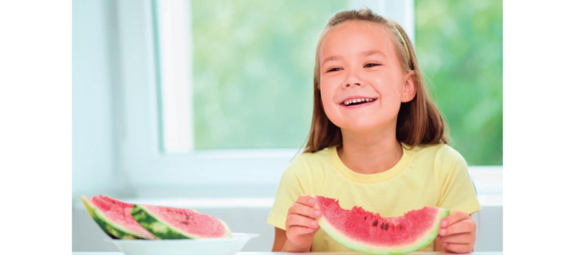 frutas en el verano